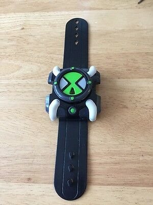 Ben 10 Fx Omnitrix Watch Rare With Light And Sound Bandai 2006 New Battery