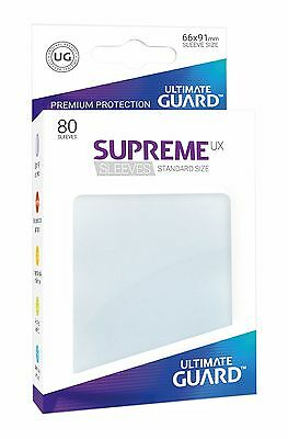 Ultimate Guard UGD010626 Ux Standard Size Frosted Supreme Sleeve Card Case