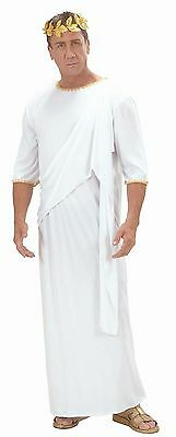 Unisex Toga Costume Large for Party Roman Emperor Fancy Dress L