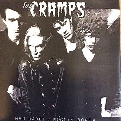 """Cramps - Mad Daddy Limited 7"""" White Vinyl Single New Mint Unplayed"""