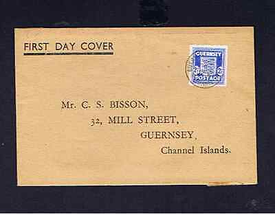 Guernsey 1944 Fdc
