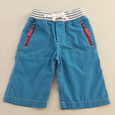 Mini Boden Boys AWESOME TURQUOISE Tech Cargo Shorts Size 4. Worn once!!
