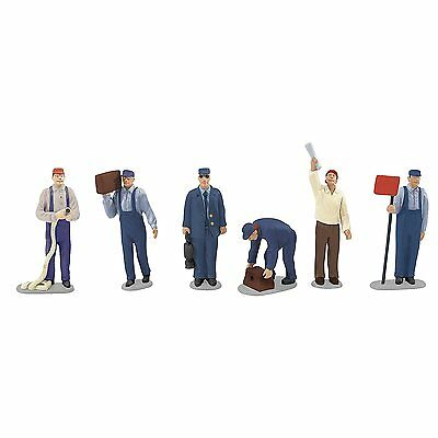 LIONEL Hand-painted Pewter Figures O Scale - Railroad Yard People - 6-24193