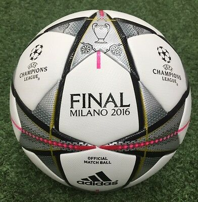 adidas UEFA CHAMPIONS LEAGUE FINAL Official Match Ball Size 5-AC5487 NIB