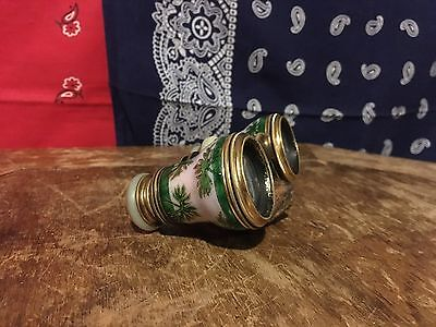 Vintage Binoculars Made In Paris Work Great Condition Rare