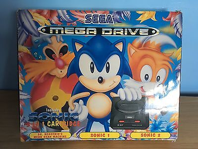 Sonic Compilation Limited Edition Sega Megadrive 2 Console