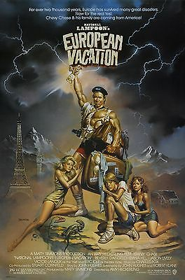National Lampoons Euor Vacation 11X17 Mini Movie Collectible Poster