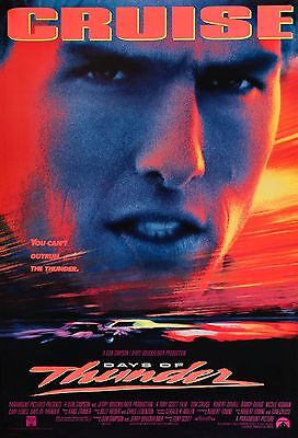 Days Of Thunder 11X17 Mini Movie Collectible Poster