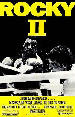 ROCKY II APOLLO YELL 11X17 Movie Poster collectible NEW CLASSIC EYE OF THE TIGER