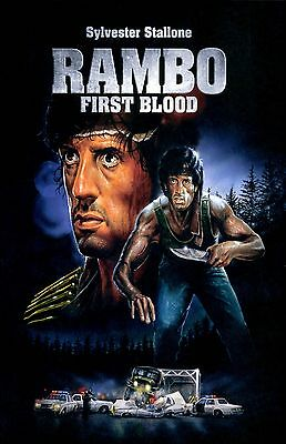 RAMBO FIRST BLOOD 11X17 Movie Poster collectible NEW CLASSIC