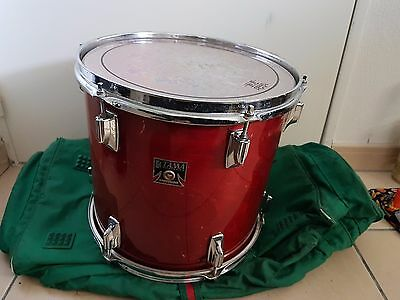 "TAMA SUPERSTAR XTRAS VINTAGE 1980's 13 X 12"" BIRCH TOM DRUM"