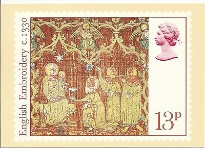 GREAT BRITAIN -  CHRISTMAS - 801 ON POST CARD PHQ19(d) - 1976