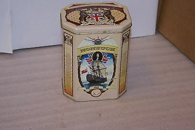 Vintage Hudson Bay Company Tin Nonsuch Prince Rupert Northwest Company