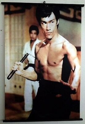 """Bruce Lee """"Chinese Connection"""" WallScroll Poster, New"""