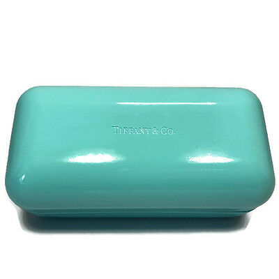 Tiffany & Co Eyeglass Sunglass LARGE Clamshell Case ONLY