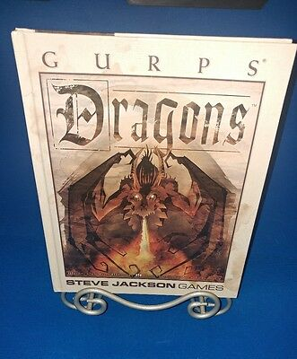 Gurps Steve Jackson (Dragons) 1st edition 1st printing NEW fast shipping NEW