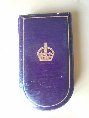 *   Case For The Military Cross