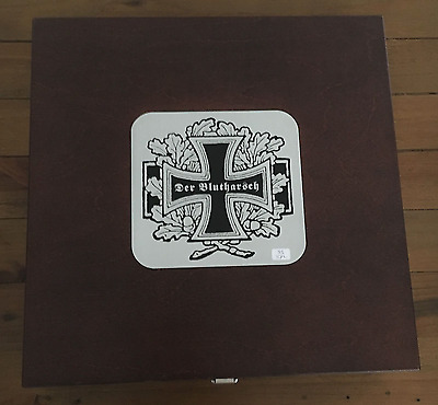 DER BLUTHARSCH - A Night Of Confusion LP Wooden Boxset, blood axis, darkwood