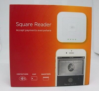 Square Contactless, Chip and Magstripe Card Reader A‑SKU‑0113-03