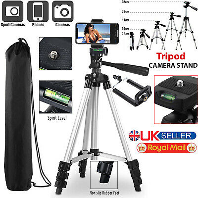 Tripod Stand For Digital Camera Camcorder DSLR SLR Phone iPhone Mount Holder New