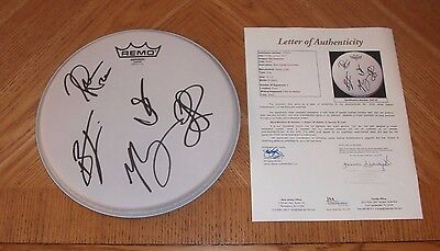 """OLD DOMINION - Autographed 10"""" Drumhead *Band Signed* JSA Certified! Country"""