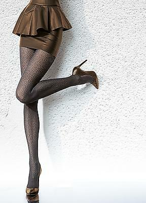 Fiore fashion tights Cayenna 40 den pantyhose - Medium - patterned hosiery