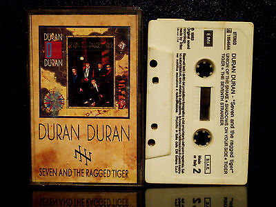 Duran Duran - Seven And The Ragged Tiger  Emi Mc Made In Italy -