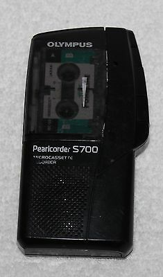 olympus Pearlcorder S700 MicroCassette Recorder Dictaphone