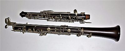 Vintage Low Pitched Boosey & Co. ebonite oboe