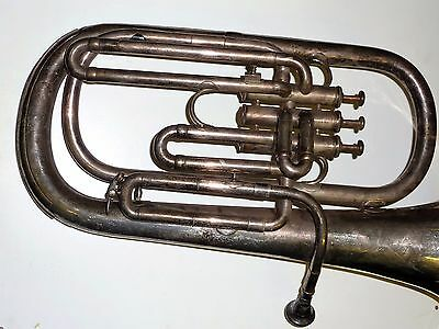 Hawkes & Son Superior Class Piccadilly Circus London 38854 baritone horn