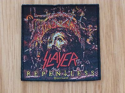 Slayer - Repentless (New) Sew On W-Patch Official Band Merch