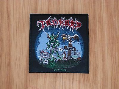 Tankard - One Foot In The Grave (New) Sew On W-Patch Official Band Merch