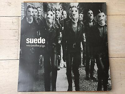 """Suede - We Are The Pigs Vinyl 12"""" 1994 Dog Man Coming Up Britpop Butler London"""