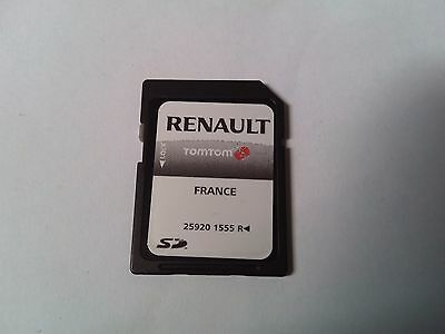 sd card gps renault tomtom 25920 1555 r