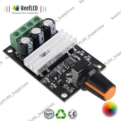 NEW PWM DC 6V 12V 24V 28V 3A Motor Speed Control Switch Controller UK Seller