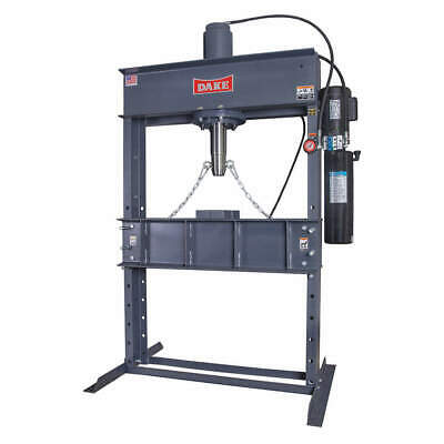 DAKE CORPORATION Hydraulic Press,50t,Electric Pump,88In H, 909250