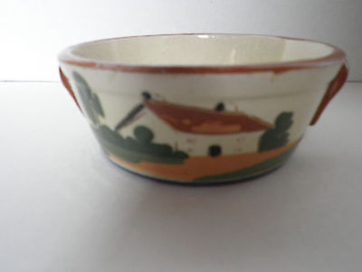 Watcombe devon motto ware small 'waste not, want not' bowl
