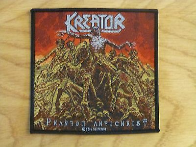 Kreator - Phantom Antichrist (New) Sew On W-Patch Official Band Merch