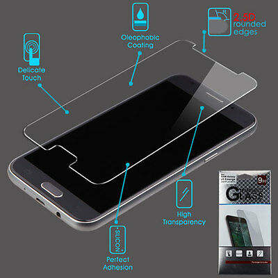 Samsung GALAXY J3 Emerge 2017 Shockproof Tempered Glass Screen Protector Guard
