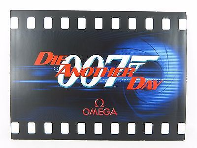 Omega James Bond 007 Die Another Day 2002 Limited Edition Watch Brochure