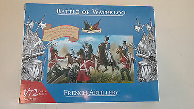 1/72 scale Accurate Miniatures Battle of Waterloo French Artillery