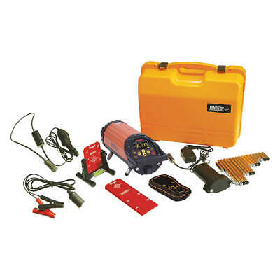 JOHNSON Line/Dot Laser Level,Int/Ext,Red,800 ft., 40-6690