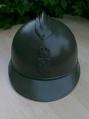 Adrian Helmet With Luxembourgh Badge
