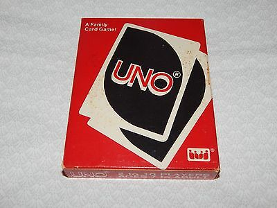 Vintage 1983 UNO Card Game - Opened but Never Played - Cards still sealed