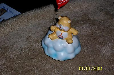 Care Bears Happy Birthday Music Box Designers Collection With Red Balloon Vgc