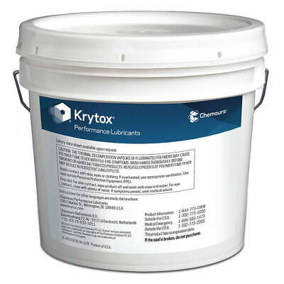 KRYTOX Pipe Thread Sealant,Pail,7kg, TS4, White