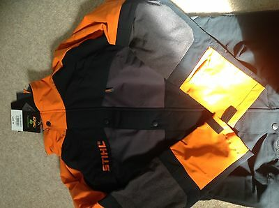 Stihl Hiflex Arborist Tree Surgeon Jacket Chainsaw Brand New With Tags Boxed M