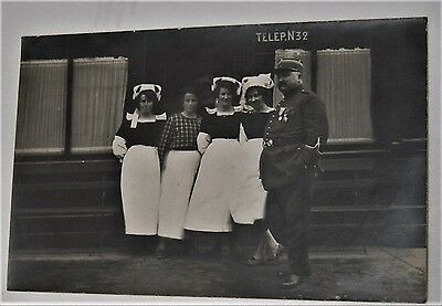 1890s Villard Quimper real photo postcard RPPC of French policeman/gendarme