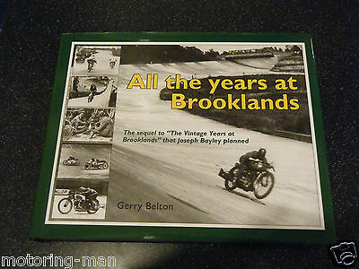 Brooklands All The Years Gerry Belton J S Worters Kaye Don Zenith Jap A Denly