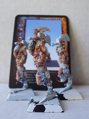 Sassair Fury Warriors Rare Rackham Confrontation OOP French Card